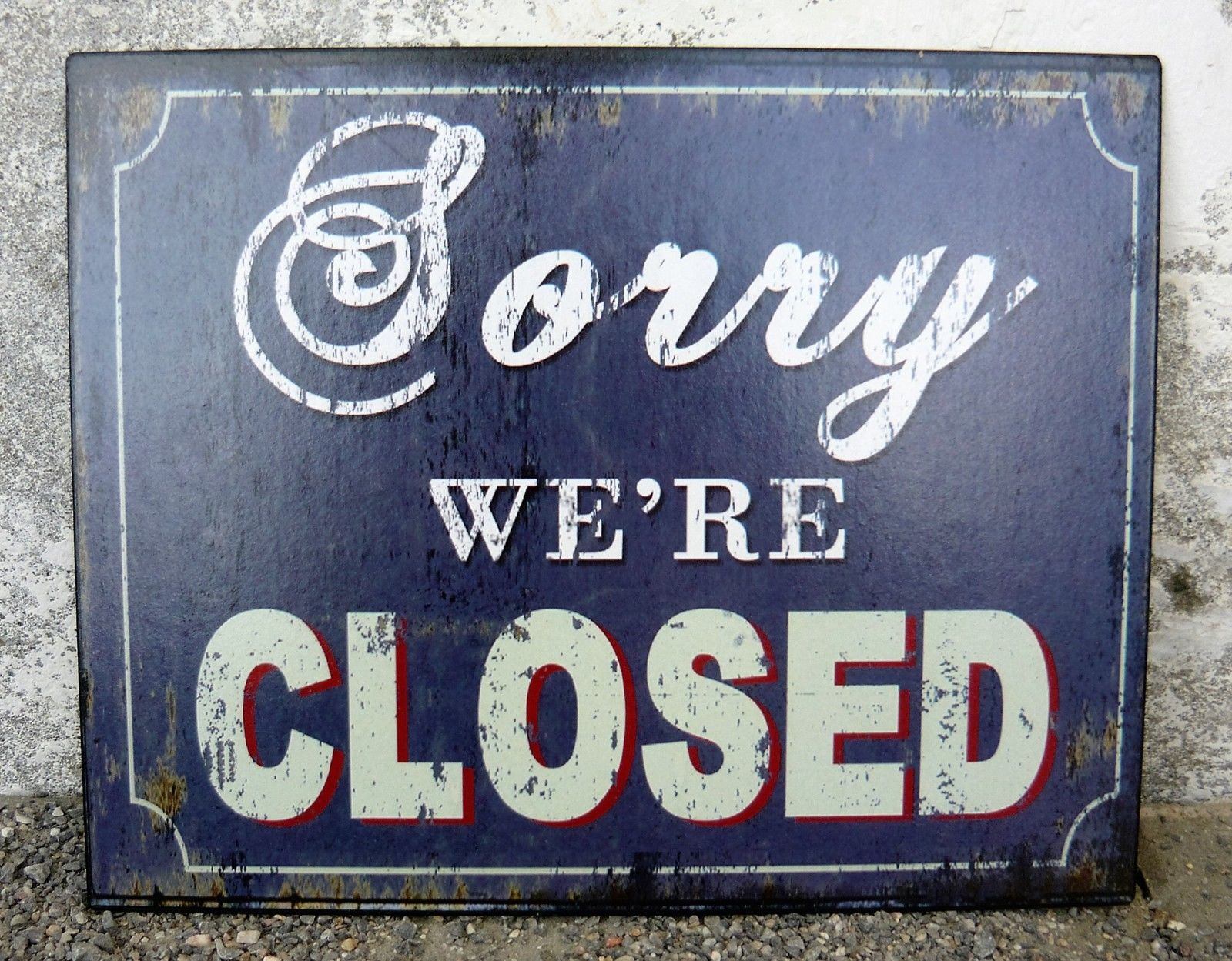 closed-sorry