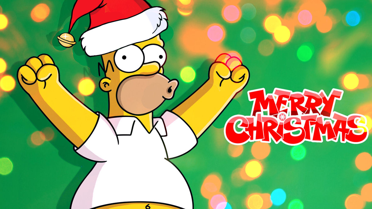 the_simpsons___homer_s_merry_christmas